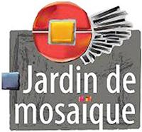 logo de jardin de mosaïque
