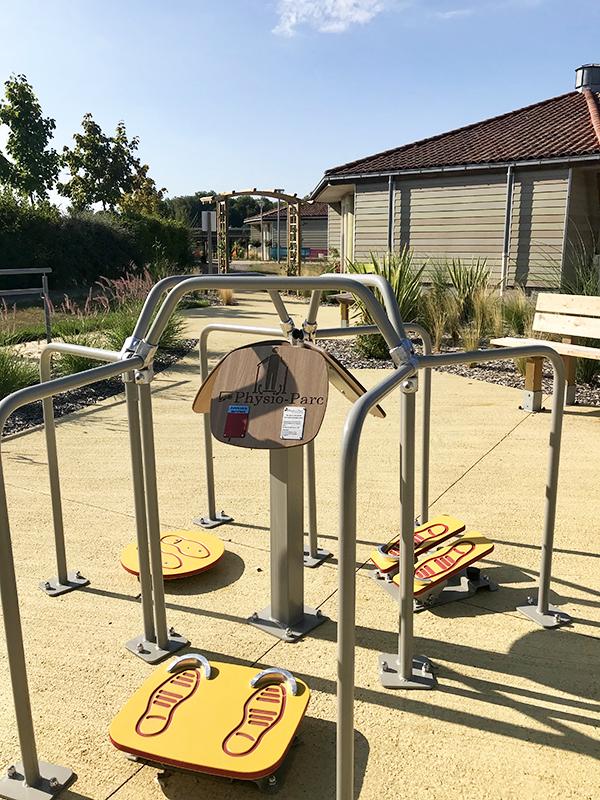 Appareils pour les activités physiques adaptées (APA), travailler son équilibre